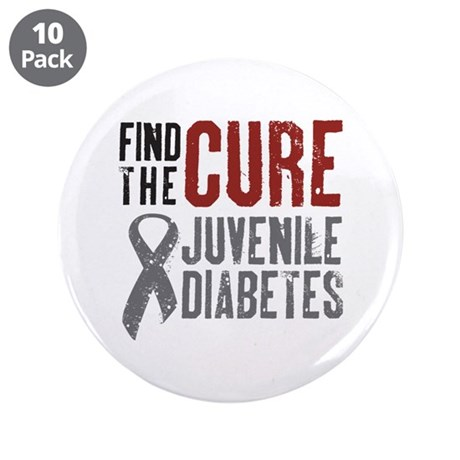 "Find The Cure 3.5"" Button (10 pack)"