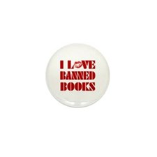 Banned Books Mini Button (10 pack)