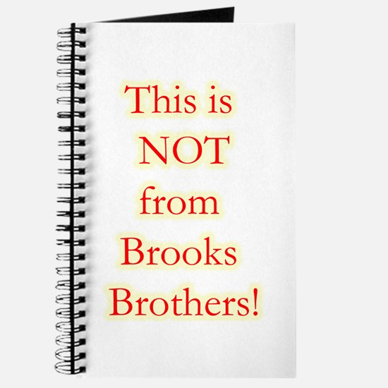 Not Brooks Brothers! Journal