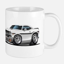 Challenger White Car Mug