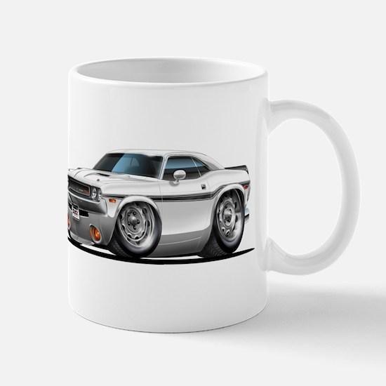 Challenger White Car Mug