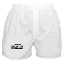 Challenger White Car Boxer Shorts