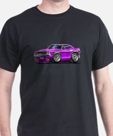 Challenger Purple Car T-Shirt