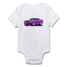 Challenger Purple Car Infant Bodysuit