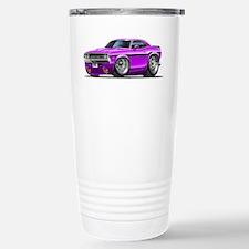 Challenger Purple Car Stainless Steel Travel Mug