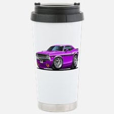 Challenger Purple Car Travel Mug