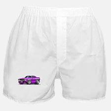 Challenger Purple Car Boxer Shorts