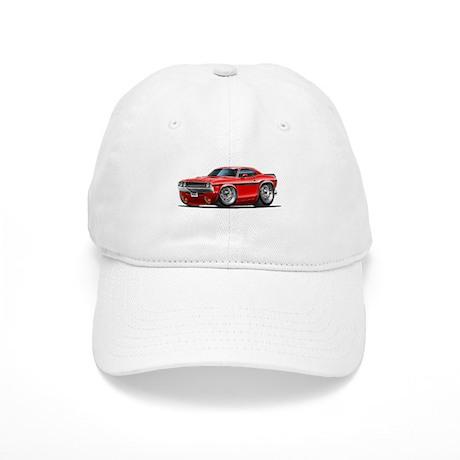 Challenger Red Car Cap