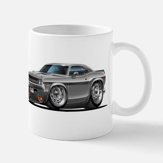 Challenger Silver Car Mug