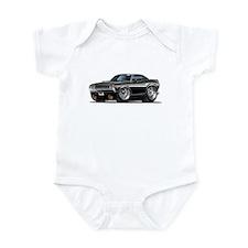 Challenger Black Car Infant Bodysuit