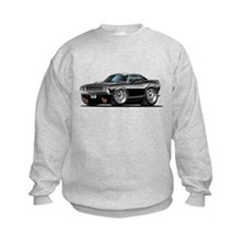 Challenger Black Car Sweatshirt