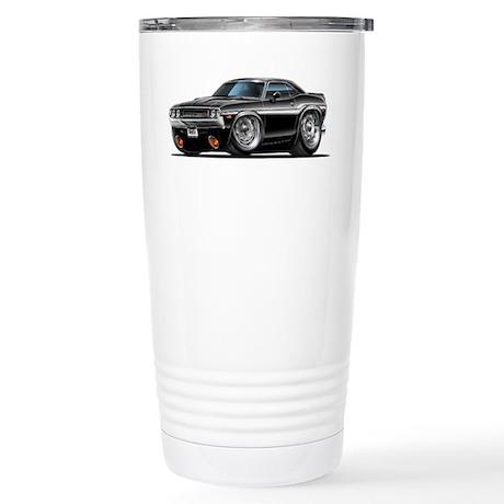 Challenger Black Car Stainless Steel Travel Mug
