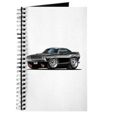 Challenger Black Car Journal