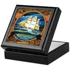 Navy Gentleman's Keepsake Box