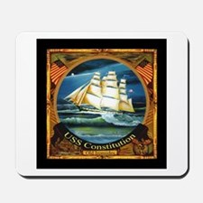 USS Constitution Americana Mousepad