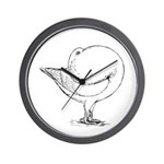 Holle Cropper Pigeon Wall Clock