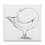 Holle Cropper Pigeon Tile Coaster