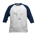 Holle Cropper Pigeon Kids Baseball Jersey