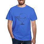 Holle Cropper Pigeon Dark T-Shirt
