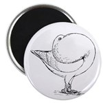 "Holle Cropper Pigeon 2.25"" Magnet (10 pack)"