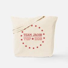 Team Jacob Top Dog Tote Bag