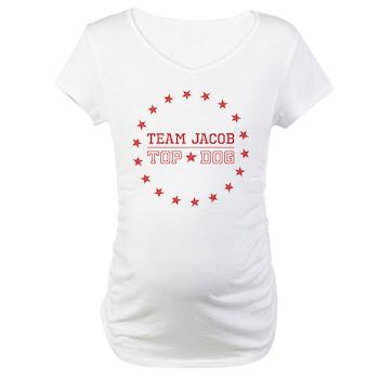 Team Jacob Top Dog Maternity T-Shirt