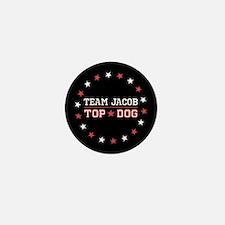 Team Jacob Top Dog Mini Button