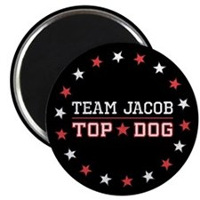 Team Jacob Top Dog Magnet