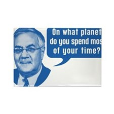 Barney Frank On What Planet Rectangle Magnet
