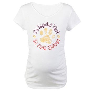 I'd Imprint That Maternity T-Shirt