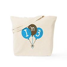 3rd Birthday I'm 3 Tote Bag