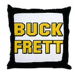 Buck Frett Throw Pillow