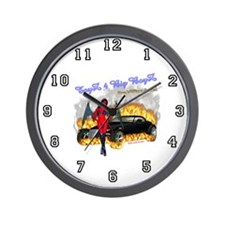 Wall Clock Toyz 4 Big Boyz DrakWing Angel