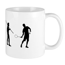 Badminton Evolution Mug