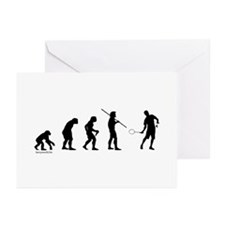 Badminton Evolution Greeting Cards (Pk of 20)