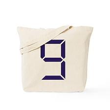 Number - Nine - 9 Tote Bag