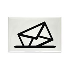 Mail Rectangle Magnet
