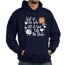 Lion fell in love with lamb #2 Hoodie