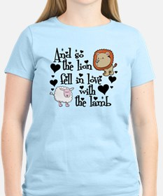 Lion fell in love with lamb #2 Light T-Shirt