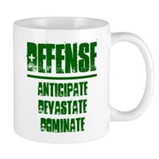 DEFENSE (1 GREEN) Mug