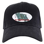 Harp Flag - Black Cap