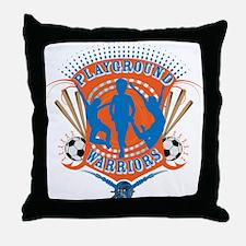 Playground Warriors Throw Pillow