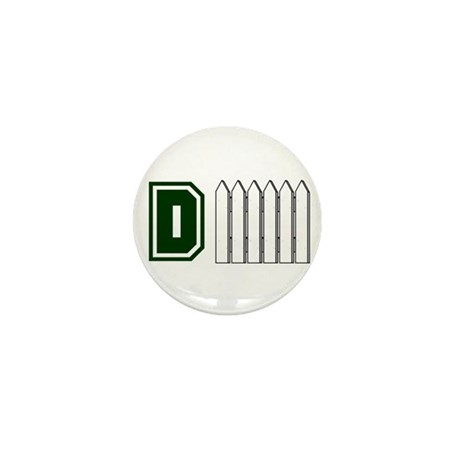 D FENCE (1 GREEN) Mini Button