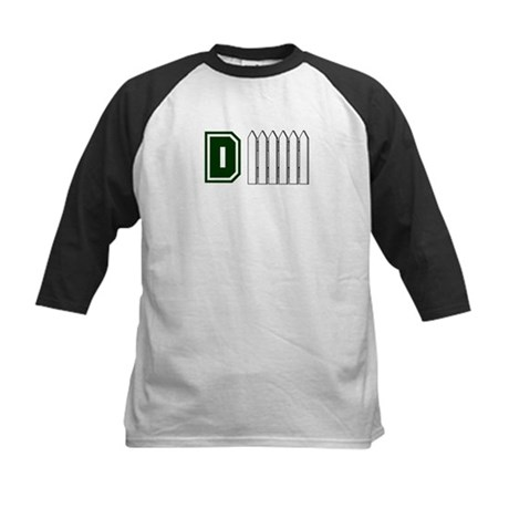 D FENCE (1 GREEN) Kids Baseball Jersey