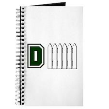 D FENCE (1 GREEN) Journal