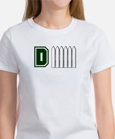 D FENCE (1 GREEN) Women's T-Shirt