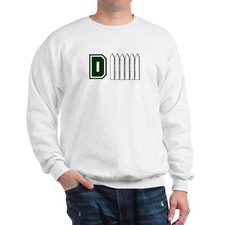 D FENCE (1 GREEN) Sweatshirt