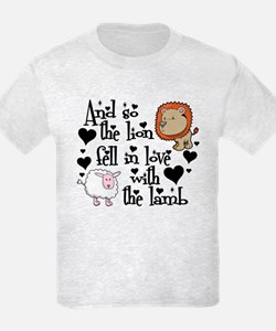 Lion fell in love with lamb #2 T-Shirt