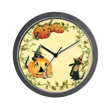 The Cats Out Wall Clock