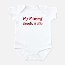 Mommy Needs a Job Infant Bodysuit